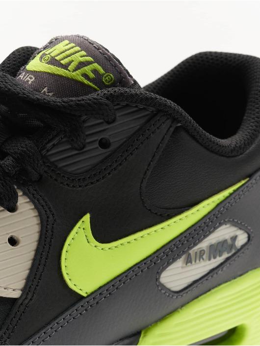 pick up 0dbe4 11e7e Nike Tennarit Air Max 90 Leather (GS) musta ...
