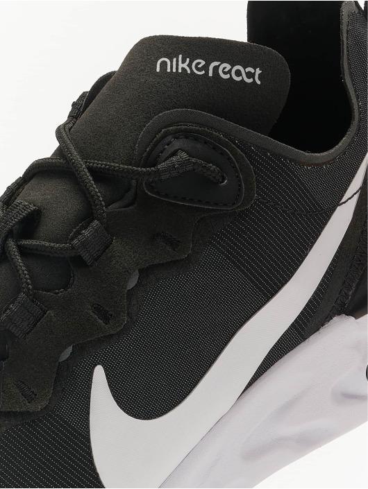 Nike Tennarit React Element 55 musta