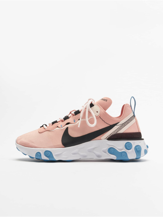 Nike Tennarit React Element 55 vaaleanpunainen