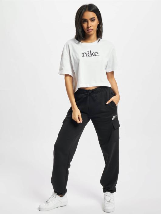 Nike tepláky Essntl Flc Cargo èierna