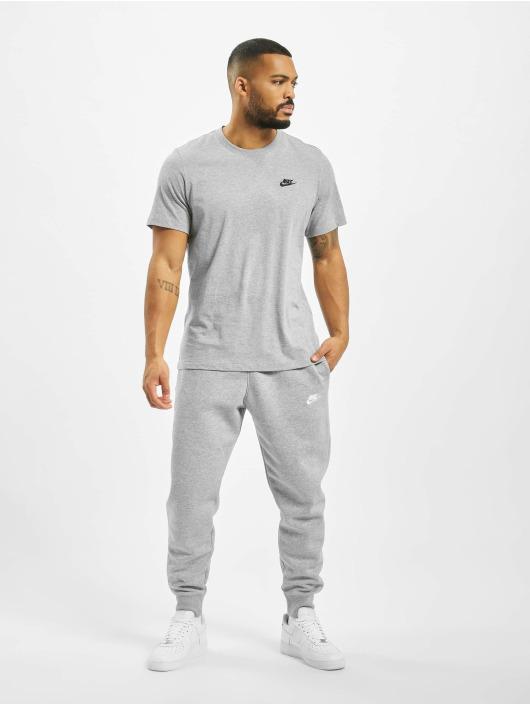 Nike tepláky Club Sweat šedá