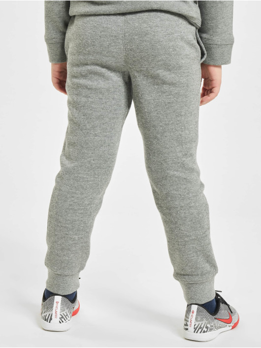 Nike tepláky Club Fleece Rib Cuff šedá