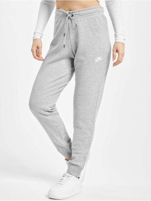 Nike tepláky Essential Tight šedá