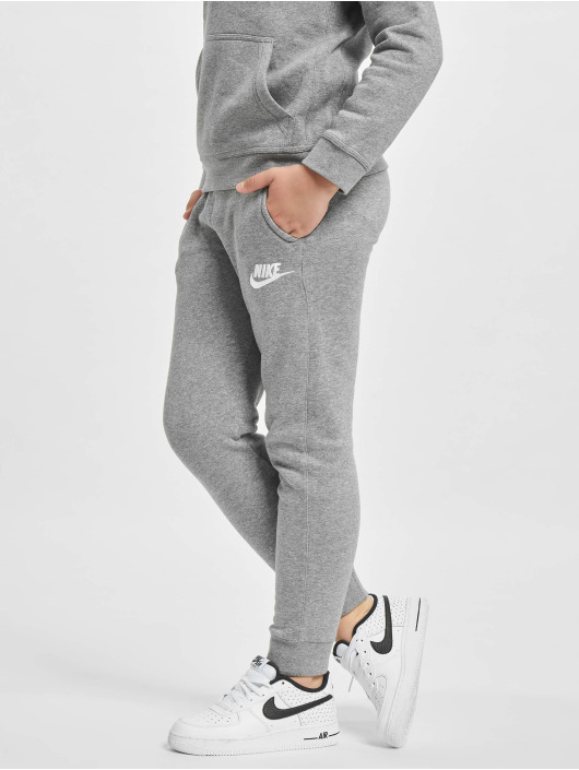 Nike tepláky Fleece Jogger Sweat šedá