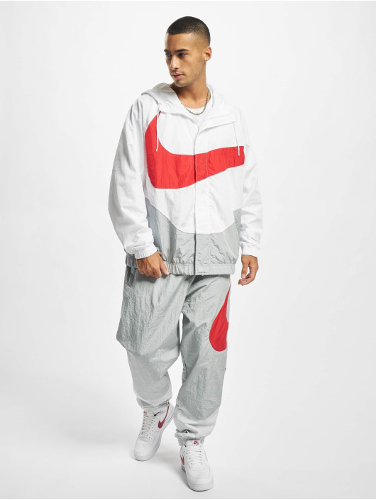 Nike tepláky Swoosh šedá