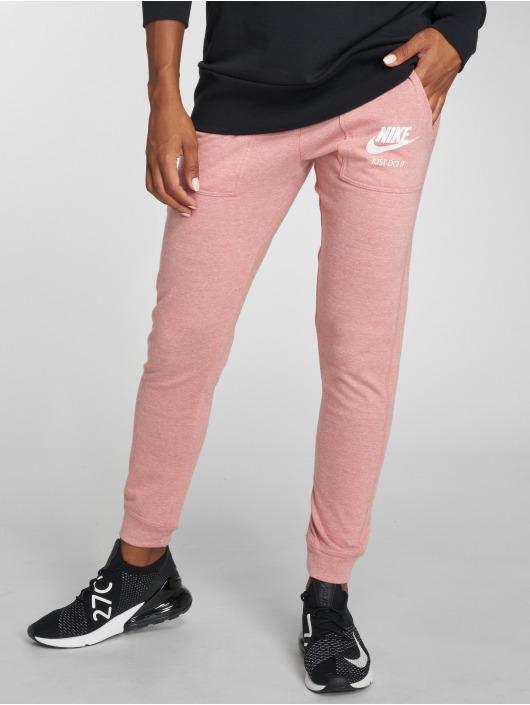 Nike tepláky Sportswear Gym pink