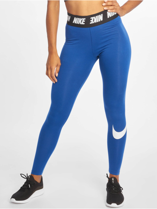 Nike Tights Club HW niebieski