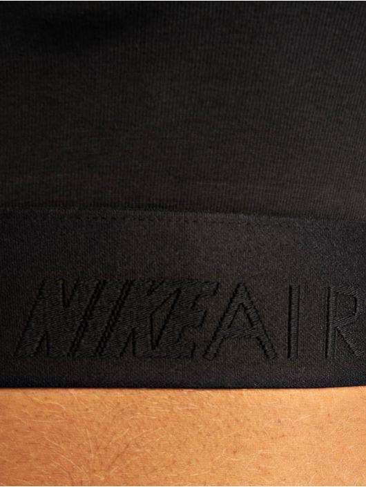 Nike Top Air Crop schwarz