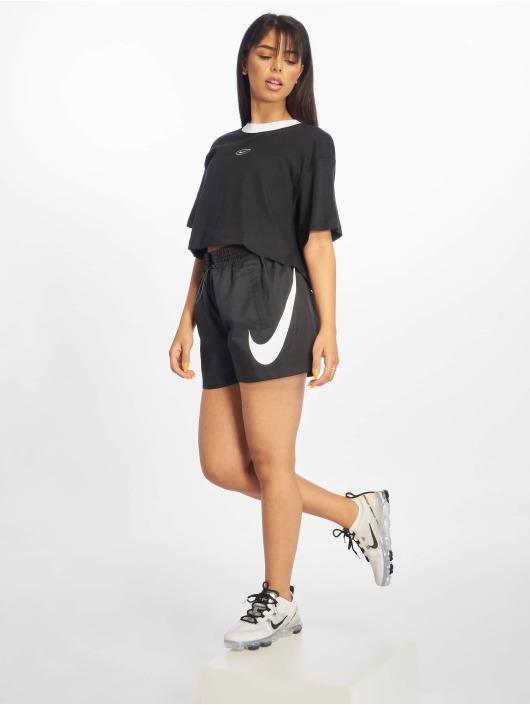 Nike Top Swoosh schwarz