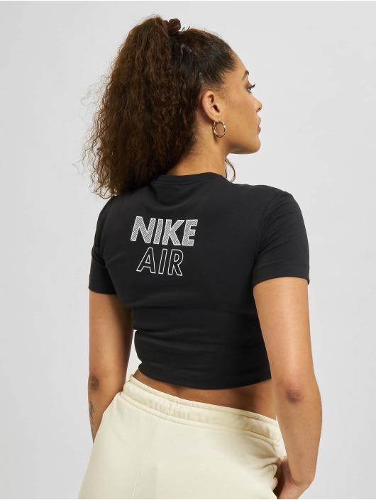 Nike top W Nsw Air SS zwart