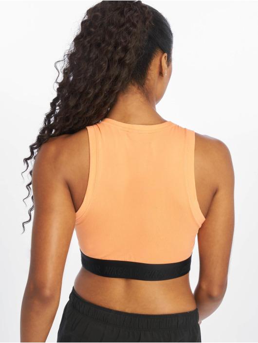 Nike Tops Air Crop pomaranczowy