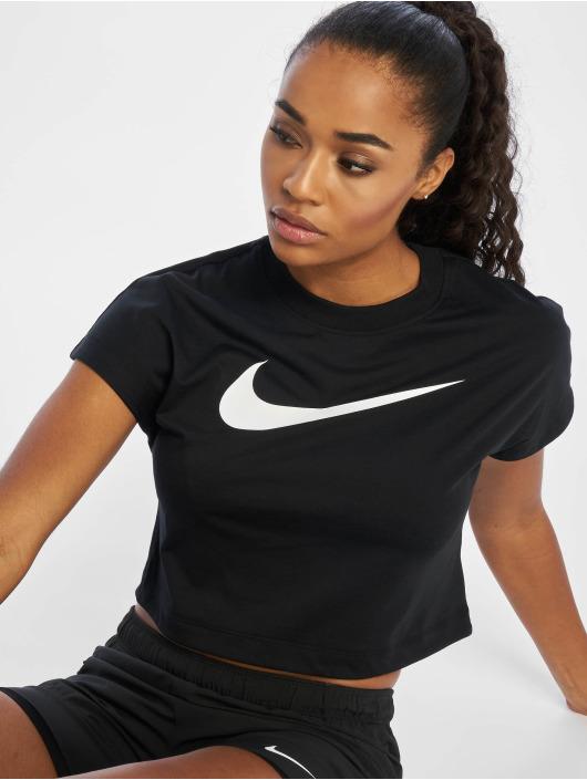 Nike Topy/Tielka Swoosh èierna