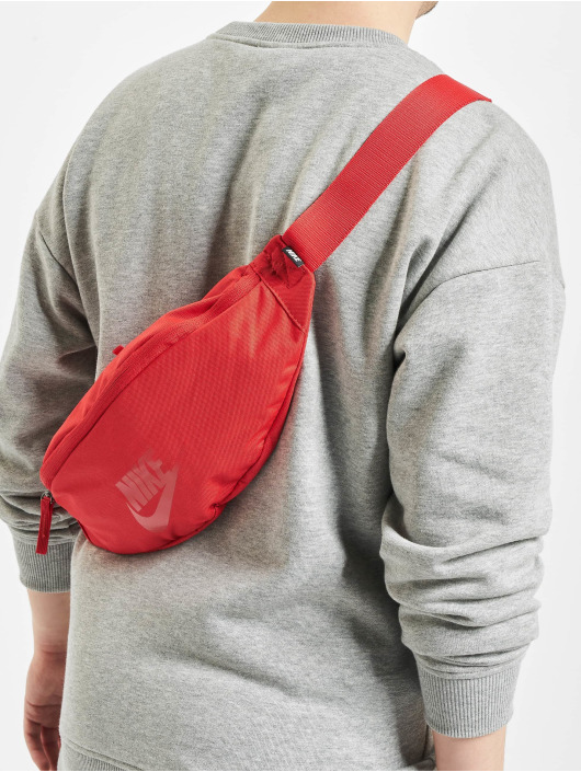 Nike Torby Heritage Hip Pack Bag czerwony