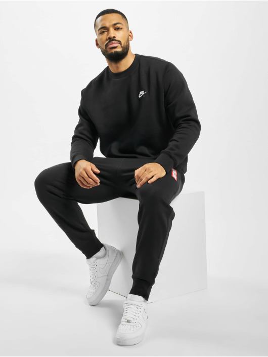 Nike Trøjer Club Crew sort