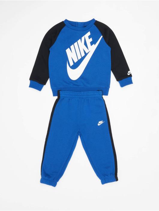 Nike Trainingspak Oversized Futura blauw