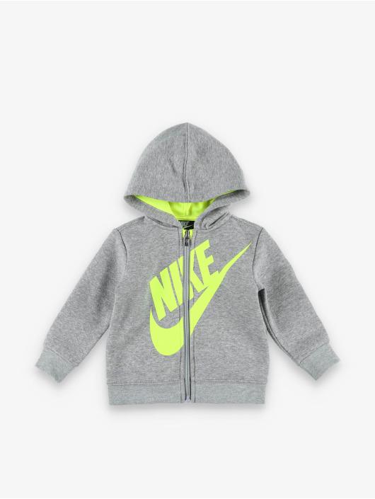 Nike Trainingspak Sueded Flce Futura grijs