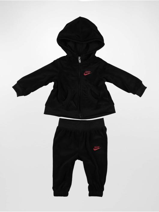 Nike Trainingspak Velour zwart