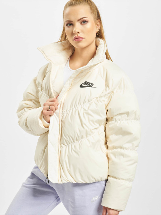 Nike Transitional Jackets Stmt Down Fill beige