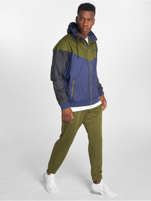 Nike Transitional Jackets Sportswear Windrunner blå