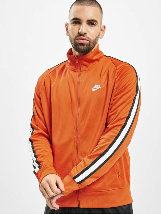 Nike Treningsjakke N98 Tribute oransje