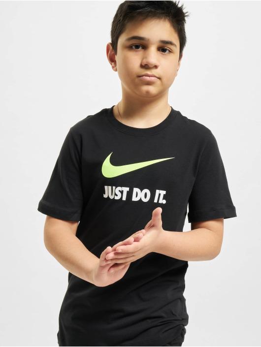 Nike Tričká JDI Swoosh èierna
