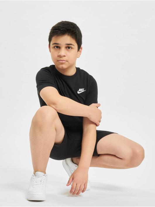Nike Tričká Futura èierna