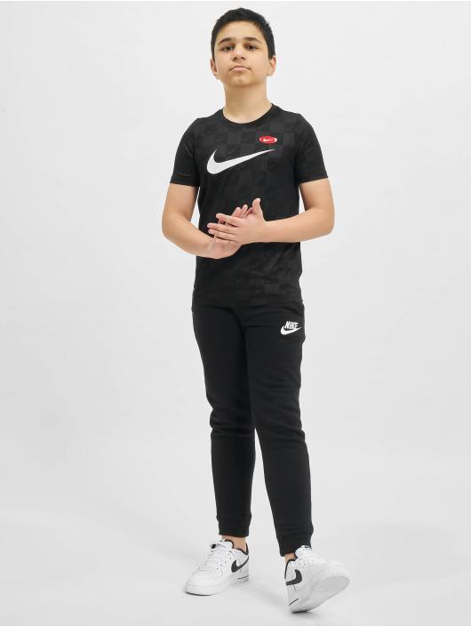 Nike Tričká Dry Soccer AOP èierna