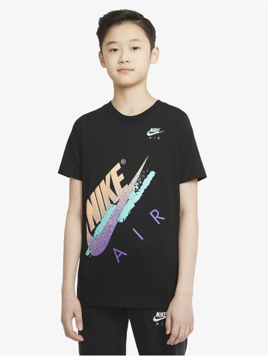Nike Tričká Beach Brandmark èierna