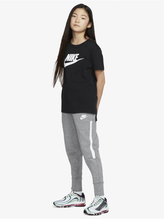 Nike Tričká Basic Futura èierna