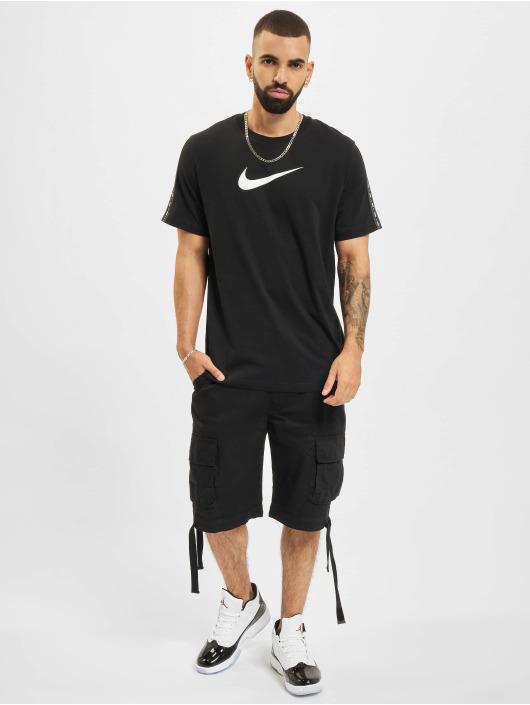 Nike Tričká Repeat èierna