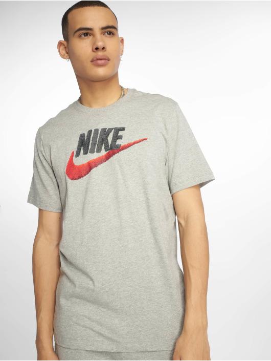 Nike Tričká Sportswear šedá