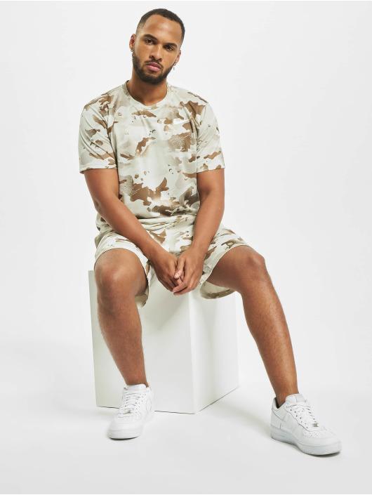 Nike Tričká Dry Leg Camo Aop béžová