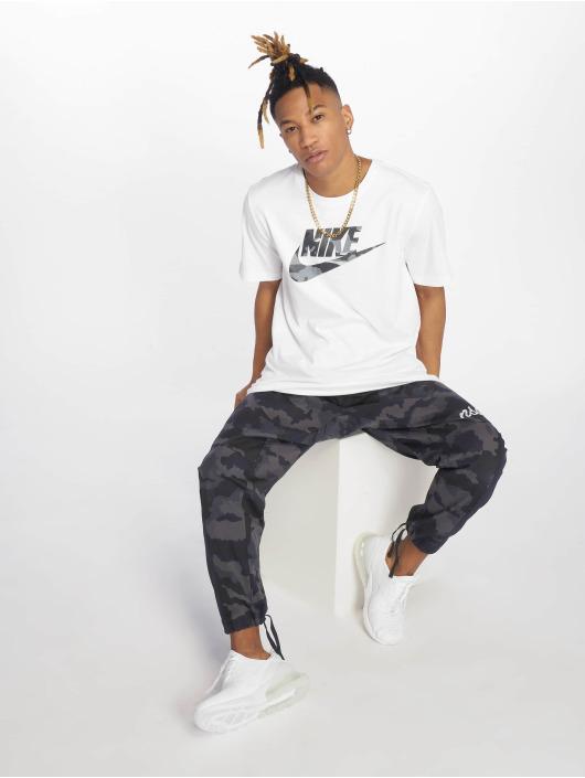 Nike Tričká Camou biela