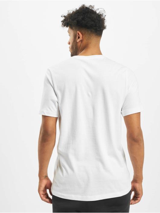 Nike Tričká Swoosh 1 biela