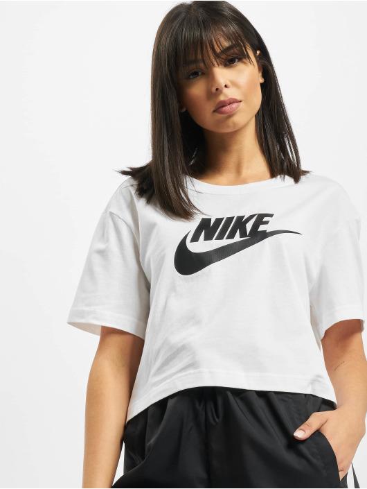 Nike Tričká Essential Icon Future biela