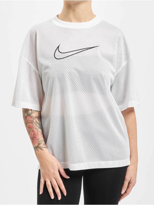 Nike Tričká Mesh biela