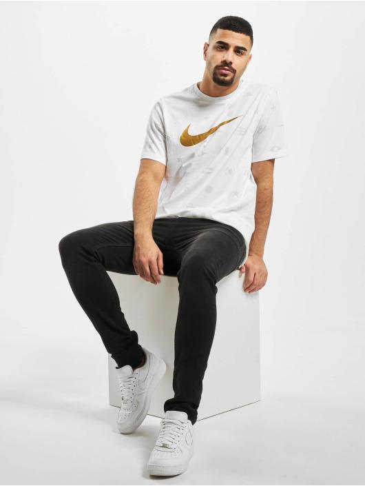 Nike Tričká Preheat AOP biela
