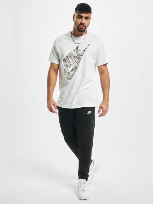 Nike Tričká Club HBR Camo 2 biela