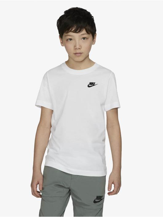 Nike Tričká Futura biela