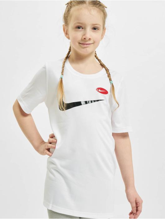 Nike Tričká Dry Soccer AOP biela