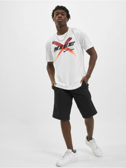 Nike Tričká Dri-Fit Graphic Training biela