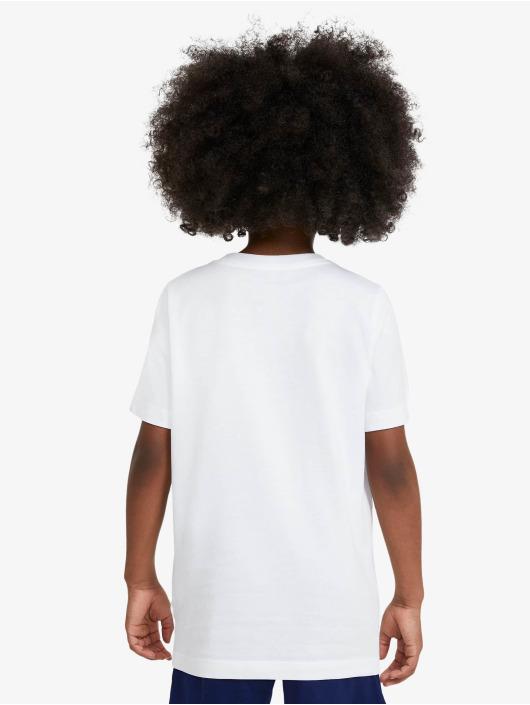 Nike Tričká Stack biela