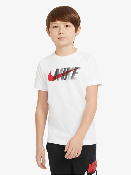 Nike Tričká Swoosh biela