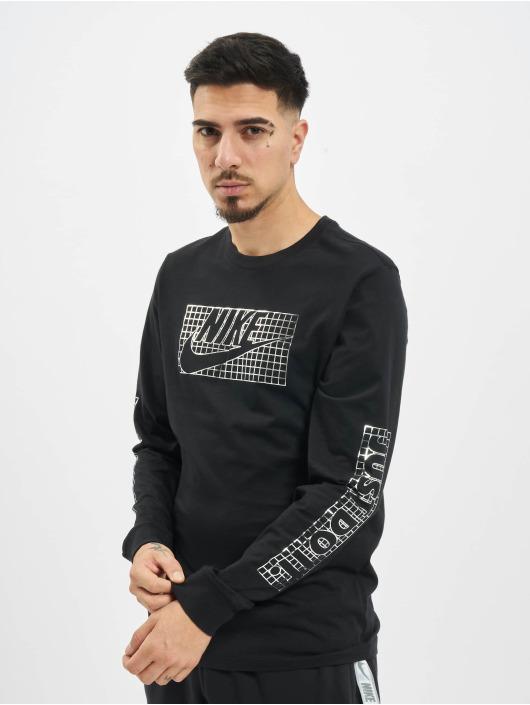 Nike Tričká dlhý rukáv Futura Foil èierna