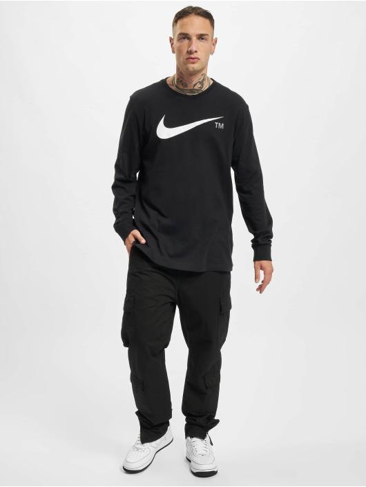 Nike Tričká dlhý rukáv Grx èierna