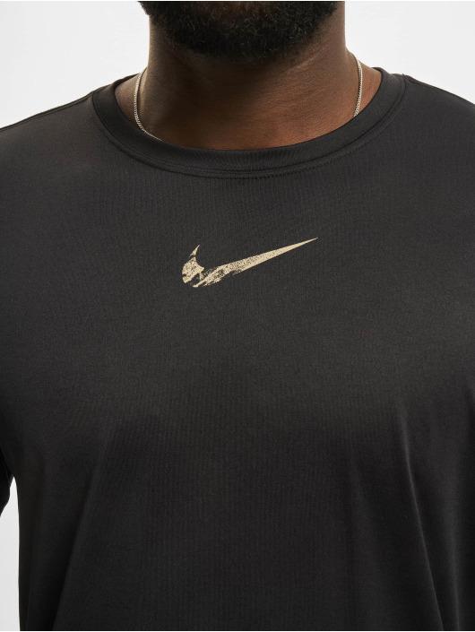 Nike Tričká dlhý rukáv Dri-Fit èierna