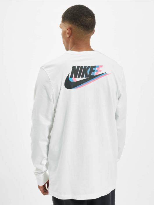 Nike Tričká dlhý rukáv Sportswear biela