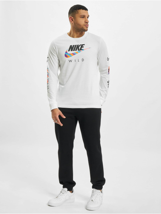 Nike Tričká dlhý rukáv M Nsw Wild Futura biela