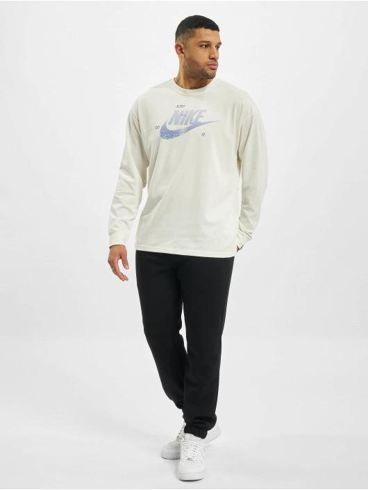Nike Tričká dlhý rukáv Nsw M2z biela