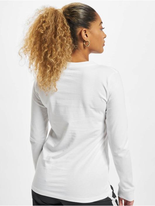 Nike Tričká dlhý rukáv Essntl Icon biela